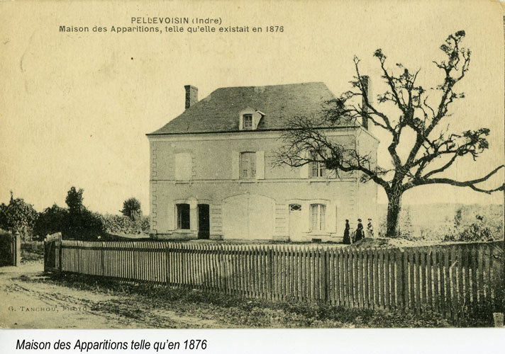 Maison des Apparitions w